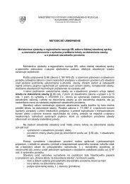 Metodické usmernenie MVRR SR, odboru štátnej stavebnej správy ...
