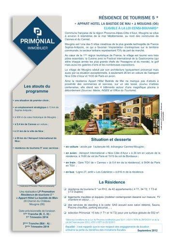 Les prestations - Primonial Immobilier