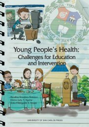 Young People's Health: People's Health: - University of San Carlos