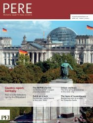 Country report: Germany - PERE