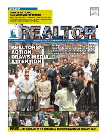 realtors® action draws media attention realtors ... - LIRealtor.com