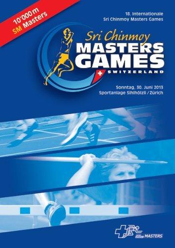 Ausschreibung - Swiss Masters Athletics