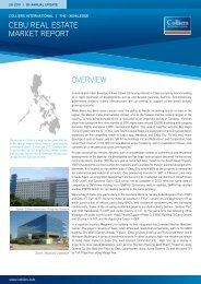 Cebu Knowledge Reort - 2H 2011 - Colliers International