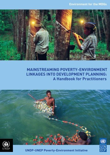 MainstreaMing Poverty-environMent Linkages into DeveLoPMent ...