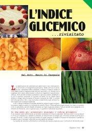 L'indice glicemico rivisitato (PDF) - Olympian's News