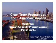 Port Clean Truck - Faster Freight - Cleaner Air