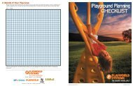Playground Planning Checklist - Kaplanco.com