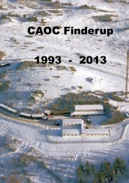 CAOC Finderup 1993 - 2013 - Flyvevåbnets Historiske Samling