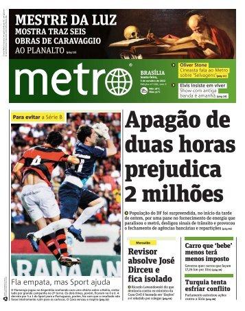 MESTRE DA LUZ - Metro