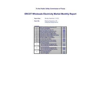 2012 August IMM Monthly Report - Potomac Economics