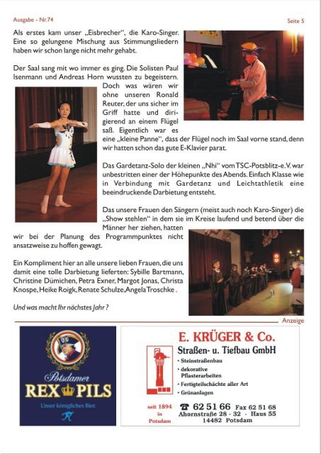 PMC-Aktuell Ausgabe 74/ April 2011