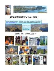 Værøyposten juli 2011 - varoyrhs.com