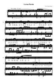 Canto a più voci per il coro - Chiesa di Milano