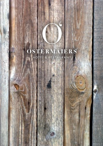 Download Speisekarte - Ostermaiers Waldeck