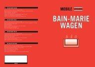 MO 01 Bain-Marie wagen - Bouter