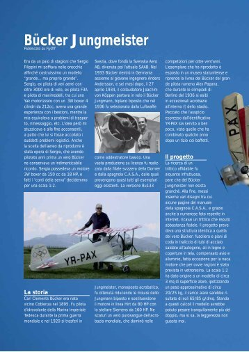 Bücker Jungmeister - Home page di Paolo Severin