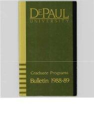 Graduate - DePaul University