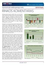 Gyvenamojo NT rinkos komentaras 2010 m. II ketv. - Ober-Haus
