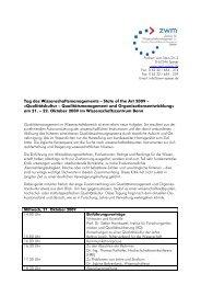 Vorlage 3 zu TOP 4: Bericht des Schatzmeisters - Das ZWM