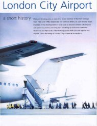 a short history by Malcolm - London City Airport Consultative ...