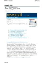Daniela A. Caviglia Seite 1 von 5 werbewoche Newsletter 27.09 ...