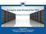 The European HPC Strategy - prace