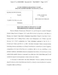 Case 2:11-cv-03934-BMS Document 29 Filed 09/26/11 Page 1 of 14