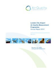 Annual Report 2010 - London City Airport