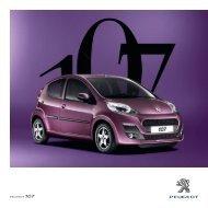 Broşür - Peugeot