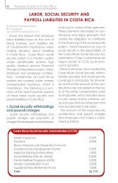labor, social security and payroll liabilities in costa rica - Amcham