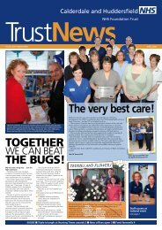 TOGETHER THE BUGS! The very best care! - Calderdale and ...