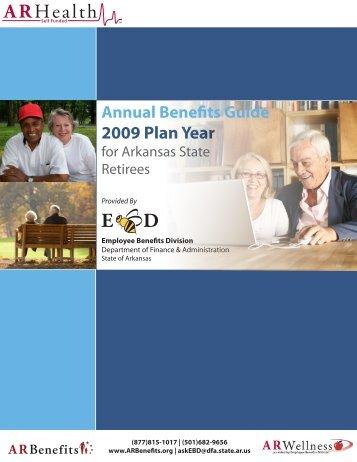 2009 Plan Year - Schedule of Benefits - Health Advantage