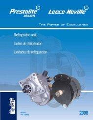 refrigeration application guide alternators