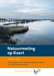 Natuurmeting op kaart (NOK) 2012 - Dienst Landelijk Gebied