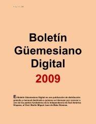 El Boletín Güemesiano Digital es una publicación de ... - Salta