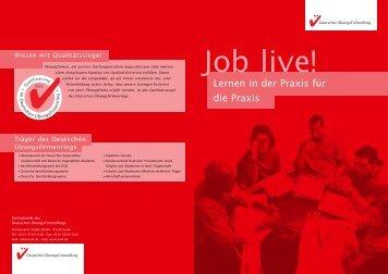 Lernen in der Praxis für die Praxis - Deutschen Übungsfirmenring