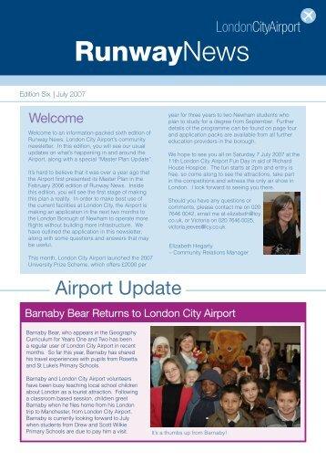 saturday 7 july 2007 - London City Airport