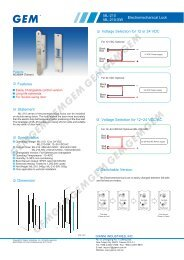 Specification ML-210 ML-210-SW Features Dimension Voltage ...