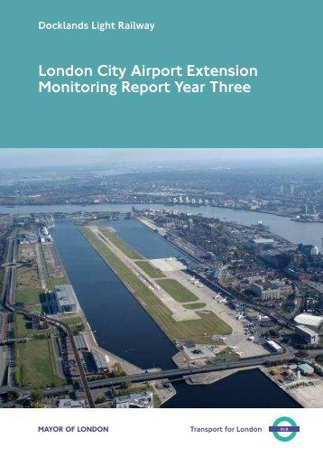 Third Monitoring Report - London City Airport Consultative Committee