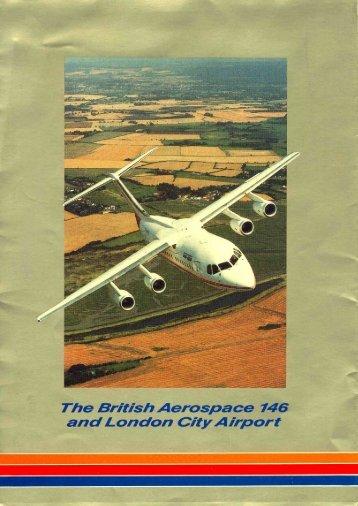 The British Aerospace 146 and London City Airport