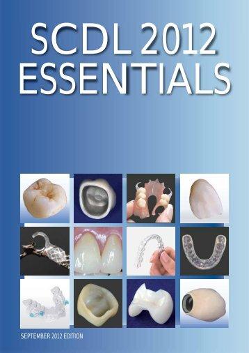 SEPTEMBER 2012 EDITION - Southern Cross Dental Laboratories