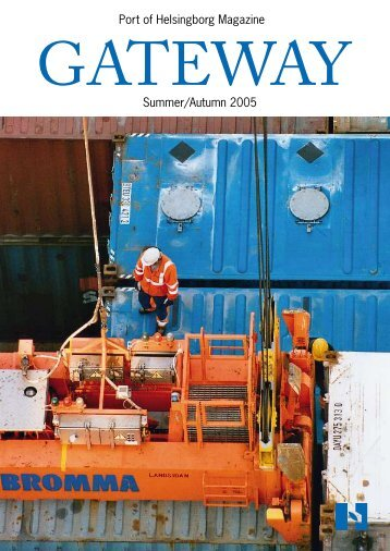 Port of Helsingborg Magazine Summer/Autumn 2005