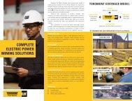 Electric Power Mining Solutions - Toromont CAT