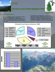 CO - Forest Health Monitoring - USDA Forest Service