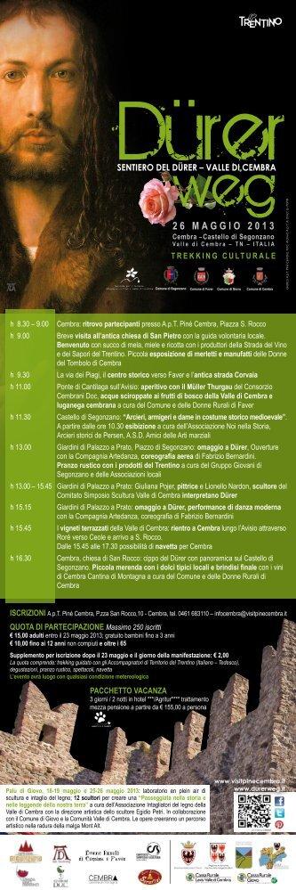 26 MAGGIO 2013 - Strade del Vino e dei Sapori del Trentino
