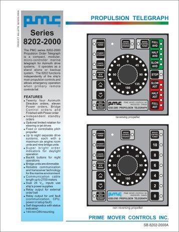 Series 8202-2000 - Prime Mover Controls Inc.