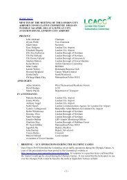April 2012 - London City Airport Consultative Committee
