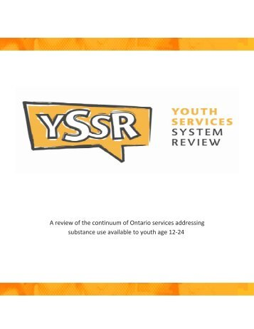 Youth Services System Review Report Part 1 FINAL - EENet