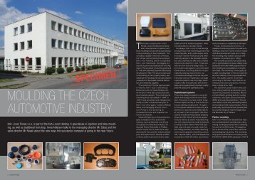 moulding the czech automotive industry - KOH-I-NOOR PONAS sro