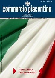 Fatta l'Italia… fatti gli italiani? - Unione Commercianti di Piacenza